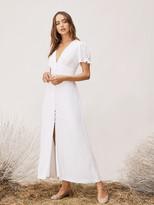 Diane von Furstenberg TVF Lavender Crepe Maxi Dress