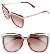 MCM Teacup 55mm Sunglasses