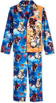 Star Wars Boys' or Little Boys' 2-Piece Button-Down Pajamas