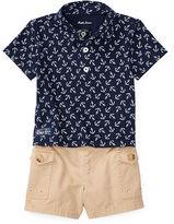 Ralph Lauren Boy Cotton Polo Shirt & Short Set