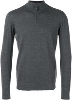Loro Piana zipped neck sweater - men - Virgin Wool - 48