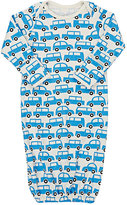 Winter Water Factory Traffic-Print Gown-Blue