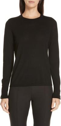 HUGO BOSS Frankie Cuff Detail Wool Sweater