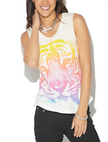 Wet Seal Tiger Muscle Tank