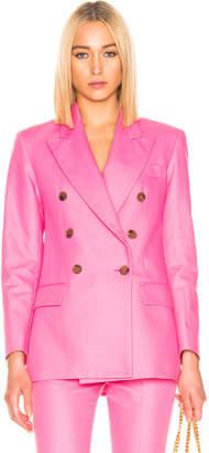 MSGM Blazer Jacket in Pink   FWRD