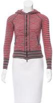 M Missoni Striped Wool Hoodie