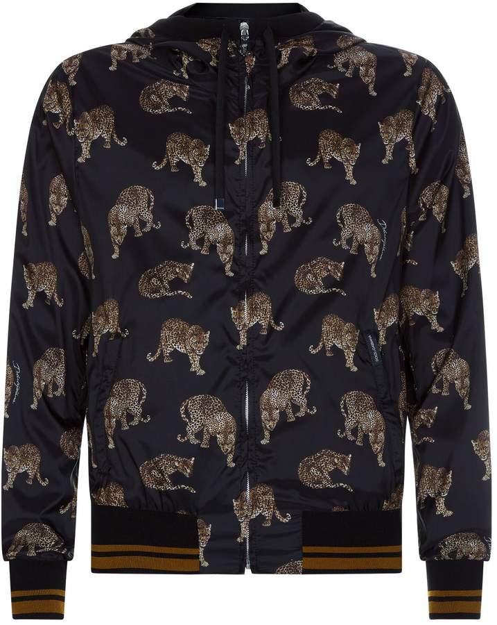 Dolce & Gabbana Leopard Motif Jacket