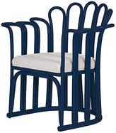 David Francis Furniture Calla Accent Chair - Indigo
