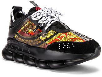 Versace Sport Sneaker in Black & Multi | FWRD