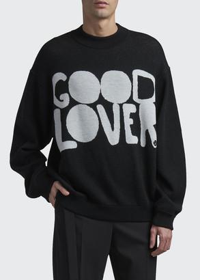 Valentino Men's Good Lover Wool Sweater