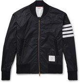 Thom Browne - Slim-fit Striped Ripstop Bomber Jacket