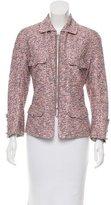 Chanel Embellished Zipped Jacket