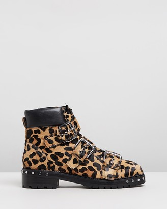 Topshop Animal Hiker Boots