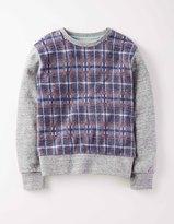 Boden Check Sweatshirt