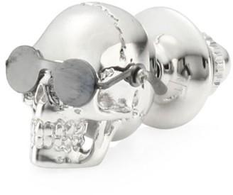 Tateossian Aviator Skull Pin