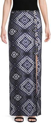 Rachel Pally Emmyloo Geometric Print Skirt