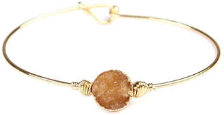 Riah Fashion Small-Wired Round-Resin Druzy-Bracelet