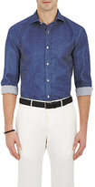 Ralph Lauren Purple Label MEN'S STAR-PATTERN DRESS SHIRT