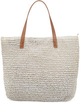 Seafolly Carried Away Beach Tote Bag, White