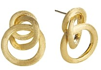 Marco Bicego Jaipur 18K Yellow Gold Loop Earrings