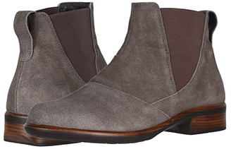 Naot Footwear Ruzgar (Taupe Gray Suede) Women's Boots