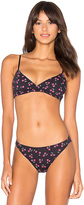 Only Hearts Cherry Bomb Wrap Bralette in Navy. - size M (also in S)