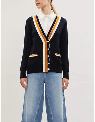 Claudie Pierlot Macedo buttoned wool cardigan