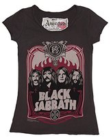 Amplified Womens Charcoal Black Sabbath T Shirt from