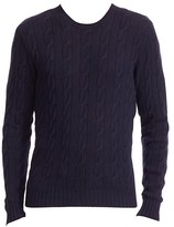 Thumbnail for your product : Ralph Lauren Purple Label Cableknit Cashmere Sweater