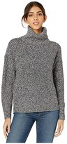 Sanctuary The Roll Neck Sweater (Heather/Black) Women's Clothing