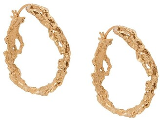 Loveness Lee Rebuita medium hoop earrings