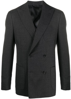 Lardini Two-Piece Double Breasted Suit