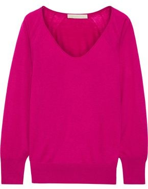 Vanessa Bruno Wool, Cashmere And Silk-blend Sweater