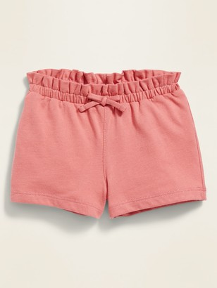 Old Navy Jersey-Knit Paperbag-Waist Shorts for Baby