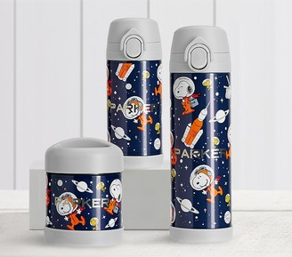 Pottery Barn Kids Mackenzie Snoopy Space Glow-in-the-Dark Hot & Cold Container