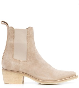 Amiri Pointed Ankle Boots