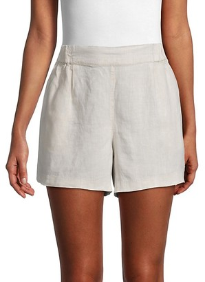Michael Stars Linen & Cotton-Blend Shorts