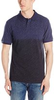 Calvin Klein Jeans Men's Pique Dot Short Sleeve Polo