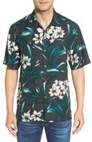 Tommy Bahama Men's 'Lily Soleil' Original Fit Print Silk Camp Shirt