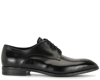 Bally Lindron leather oxford shoes