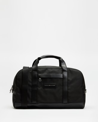 Tommy Hilfiger Men's Black Duffle Bags - Uptown Duffle - Size One Size at The Iconic