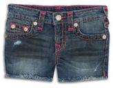 True Religion Toddler's, Little Girl's, & Girl's Denim Shorts