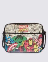 Marks and Spencer Kids' AvengersTM Faux Leather Messenger Bag