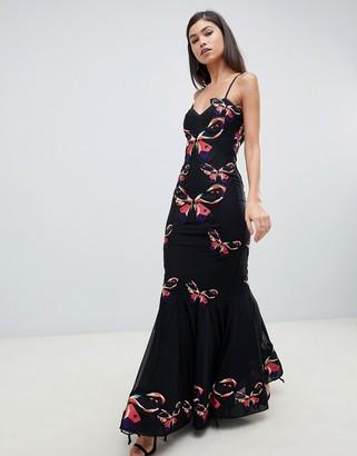 Forever Unique floral maxi dress
