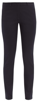 Joseph Eliston Stretch-twill Trousers - Womens - Navy