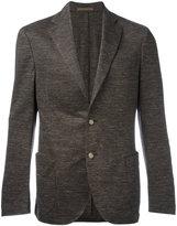 Eleventy texture blazer - men - Cotton/Linen/Flax/Acetate/Polybutylene Terephthalate (PBT) - 48