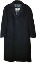Burberry Anthracite Cashmere Coats