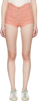Isabel Marant Pink Denim Everson Shorts