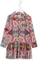 Maan - printed shirt dress - kids - Viscose - 10 yrs