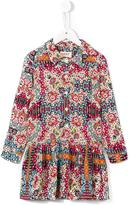 Maan printed shirt dress